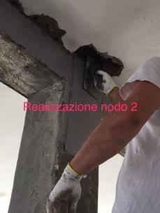 preparazione nodo pilastro